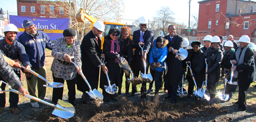 Gordon Street Groundbreaking