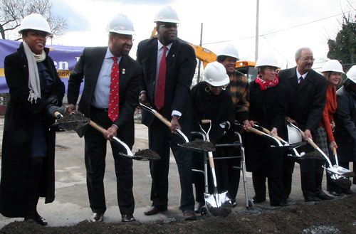 Queen Lane Groundbreaking